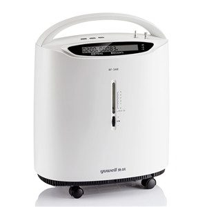 Oxygen concentrator for home care with alarm and nebulizer function - 8F-3AW